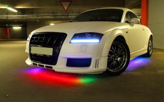 Технология установки подсветки днища автомобиля