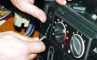 Поиск и устранение неисправностей отопления для моделей ВАЗ 10-го поколения.