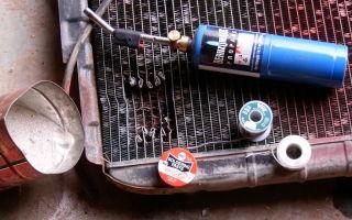 Методика использования герметика для радиатора