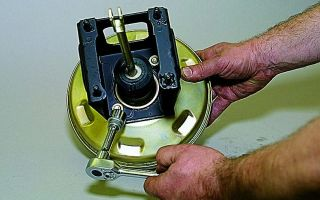 Ремонтируем вакуумный усилитель тормозов