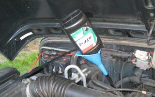 Методика замены масла в автоматической коробке передач