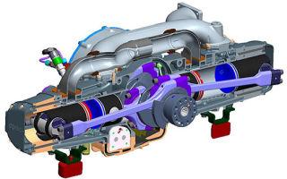 Изучаем двухтактный дизельный двигатель