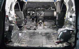 Шумоизоляция автомобиля по уникальной инструкции