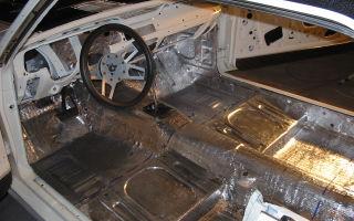 Комплексная шумоизоляция автомобиля изнутри своими руками