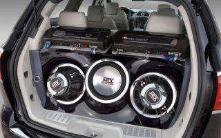 Выбор акустической системы в автомобиль