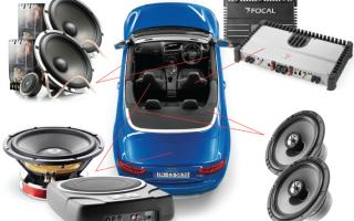 Установка акустической системы в автомобиль своими руками