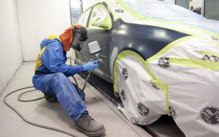 Подготавливаем автомобиль к покраске своими руками.