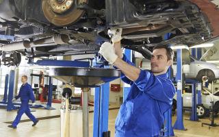 Основы проверки и ремонта коробки передач
