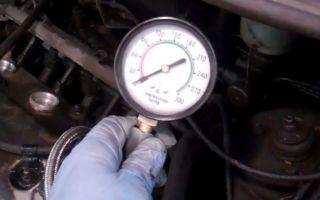 Проверка компрессии дизельного двигателя своими руками