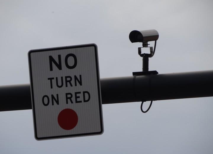 Поворот на красный запрещен