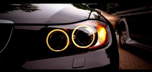 Как сделать ангельские глазки на фары автомобиля