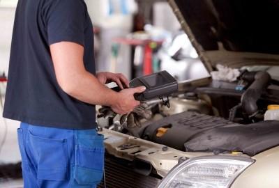 осмотр дизельного двигателя