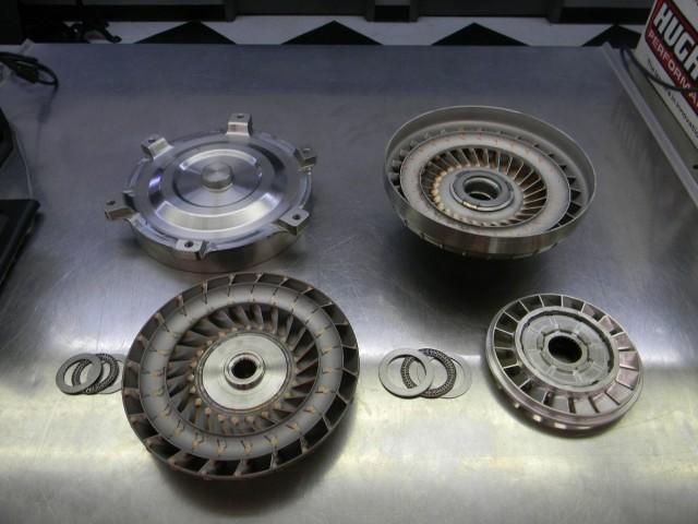 разборка гидротрансформатора