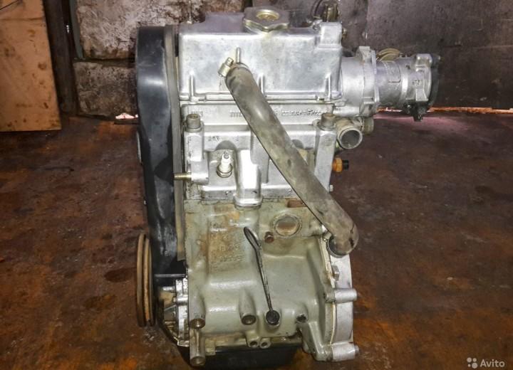 Двигатель после демонтажа