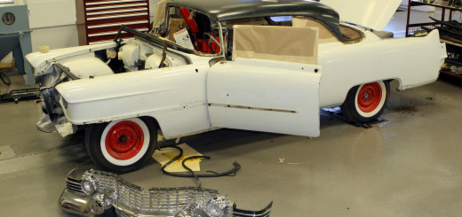 GMÕs Performance Division 'discovered' a 1954 Cadillac in a GM storage facility that had been built 60 years earlier to specifications similar to the Cadillac Model 62 coupe that private entrants Keith Andrews and Blu Plemons raced in the 1954 Carrera Panamericana, the Mexican Road Race. The re-creation of that racer brings back to life an exciting example of Cadillac's performance heritage. W54HV_CA003  (United States)