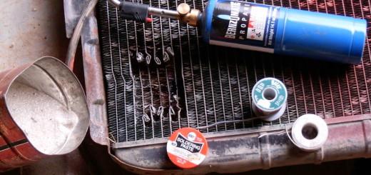 Восстанавливаем поврежденный радиатор