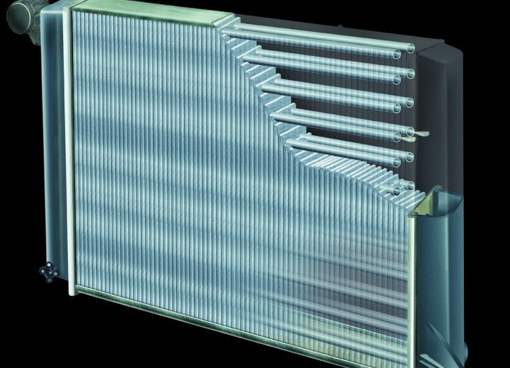 Радиатор охлаждения тип 2.