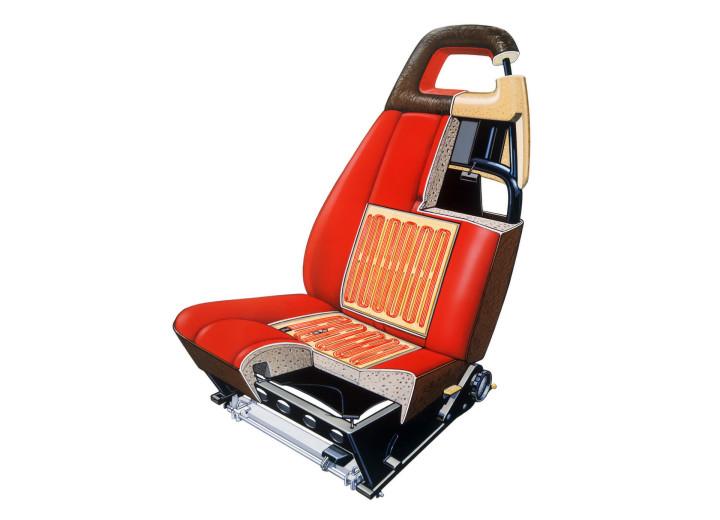 Схема кресла и подогрева