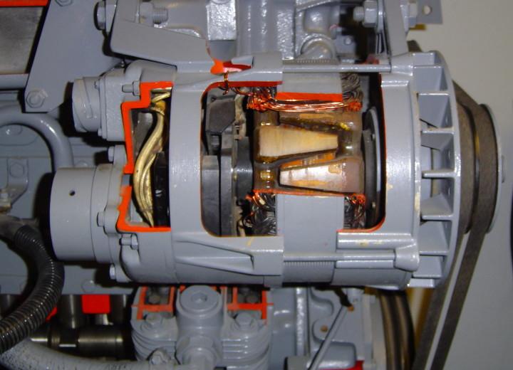 Один из первых генераторов