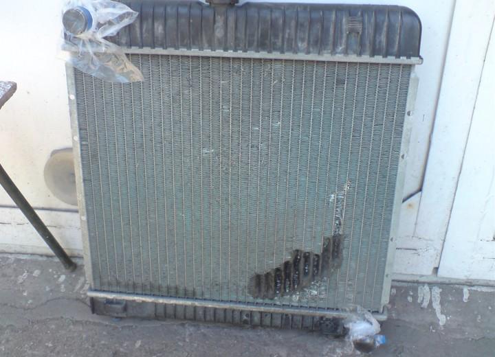 Поврежденный радиатор