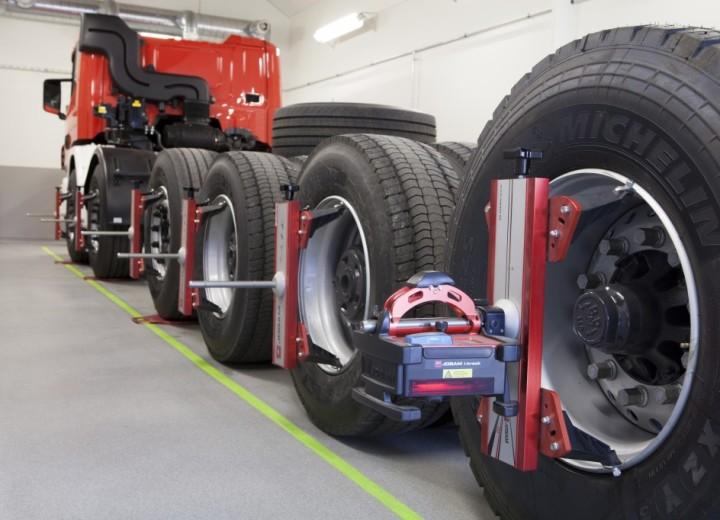 Регулировка колес на грузовом авто