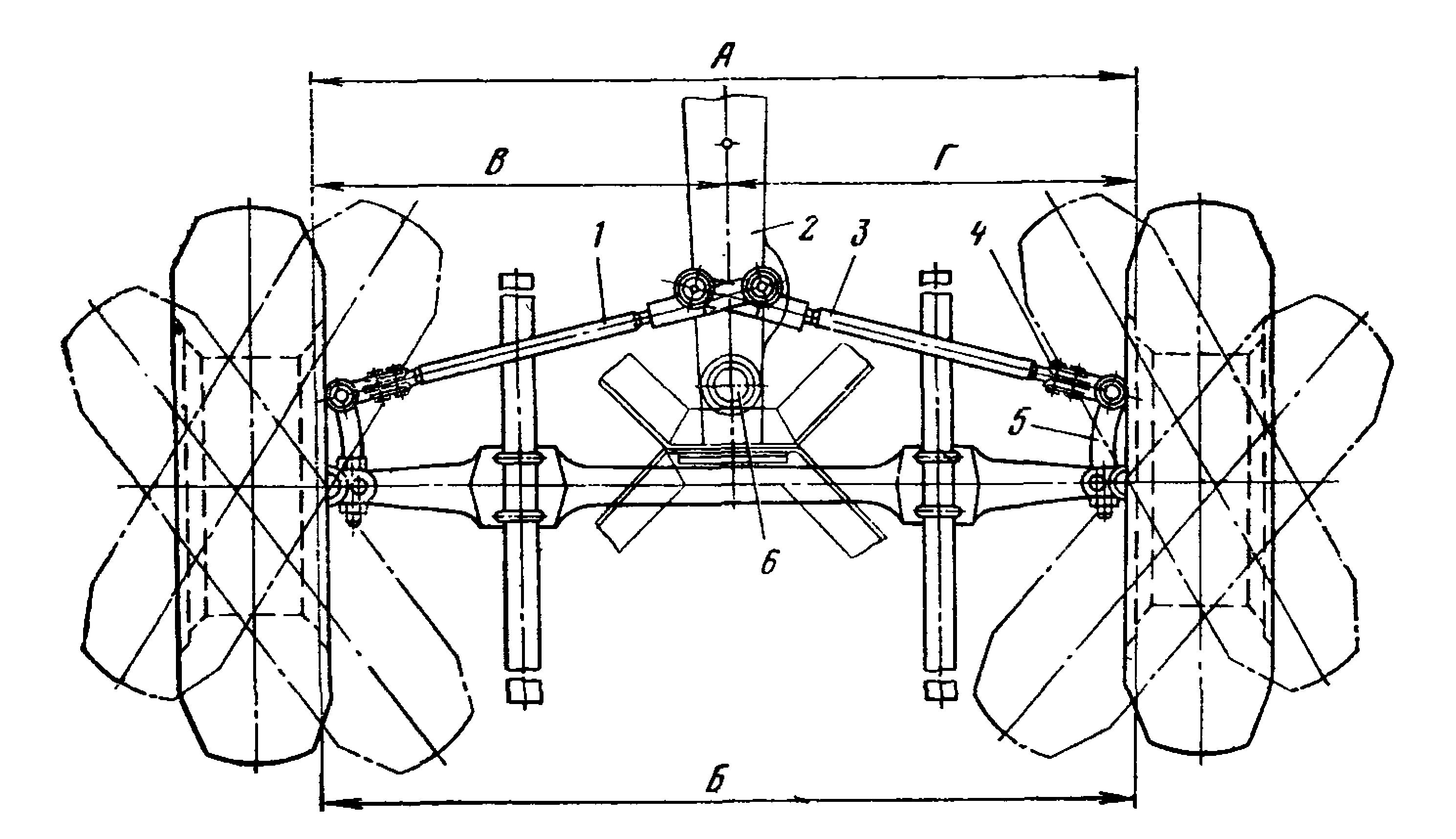 Регулировка углов установки передних колес (развал) 72